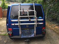 Fiamma 2-4 bike rack for VW T4 tailgate version