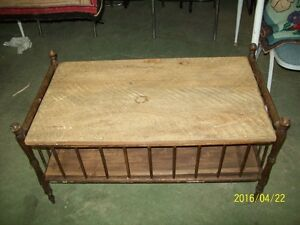 Unique Coffee Table Made From A Crib....