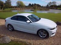 2014 / 64 BMW 220 2.0TD ( 190bhp ) ( s/s ) 2014MY d M Sport