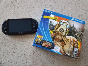 Sony Wifi PS Vita Borderlands 2 Bundle - Used Like New