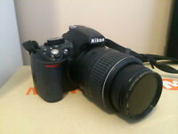 NIKON D3100 CAMERA with AF-S NIKKOR 18-55 mm Zoom Lens- $375 OBO