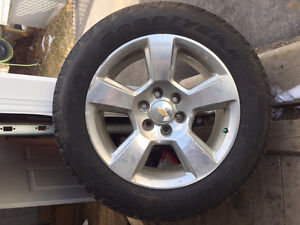 20 inch chevrolet stock rims and tires