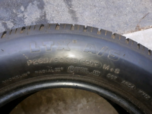 265/60r18 one tire