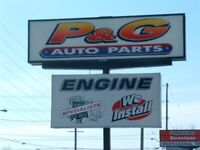 P&G Auto looking for a DZ driver