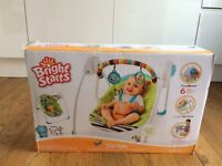 Bright Stars Zoo Tails Portable Baby Swing