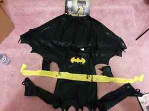 Girls medium bat girl  Halloween costume