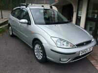 2002 Ford Focus 1.6 Ghia 46000 12m mot part exchange to clear