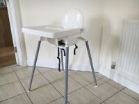 IKEA Antilop High chair and tabletop