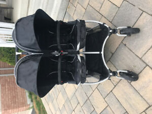 StrollAir My Twin Duo Double Stroller and All assessories