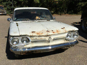 REDUCED PRICE 1962 Corvair Monza 900 Coupe Project