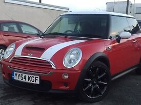 2004(54) MINI COOPERS S 1.6 PETROL*3 DOOR HATCH BACK*2 KEYS* LONG MOT*P/X WELCOME*