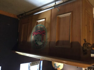 Free to a good home!  Bar Cupboards
