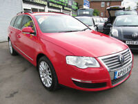 Volkswagen Passat 2.0TDI 2006MY SE Manual Diesel In Red