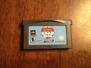 JEUX GAMEBOY ADVANCE: The Simpsons Road Rage 5$