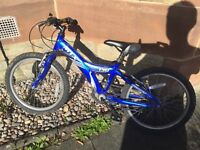 Kids mountain bike 20 inch wheels.