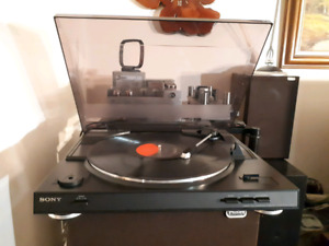 Sony belt drive automatic turntable PS-LX250H
