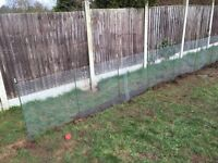 Galvanised mesh (35 meter ish )