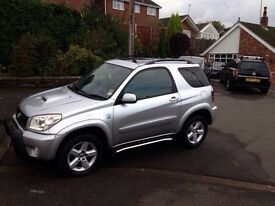 Rare 3dr RAV4 with leather interior