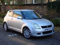 EXCELLENT EXAMPLE!!! 2006 SUZUKI SWIFT 1.3 GL 3dr, LONG MOT, 2 FORMER KEEPER