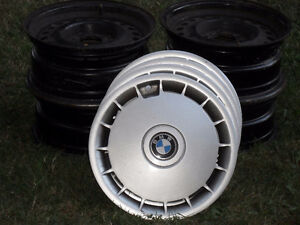 "BMW 16"" rims and Hubcaps"