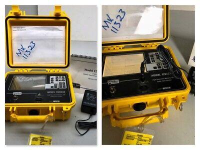 Riser Bond 1205cxa 1205 High Resolution Metallic Tdr Time Domain Reflectometer