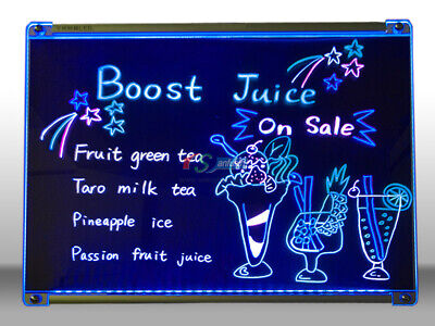 Led Hanging Writing Memo Board Business 31x 24 Message Sign