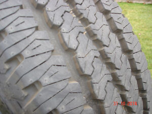 4 - Firestone Transforce tires LT285/60R/20 A/T , load range E