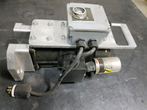 120V motor with gearbox