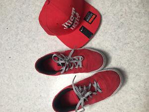 Nike skateboard shoes + Nike matching cap