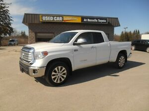 2015 Toyota Tundra Limited 5.7L Double Cab 4WD Peterborough Peterborough Area image 2