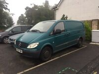 Mercedes Benz Vito 05 plate van Diesel just been MOT'd