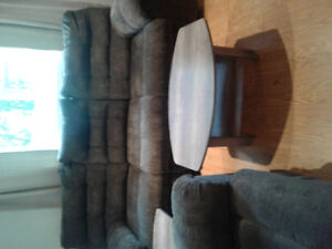 Reclining Sofa and Loveseat  (Added Photos)