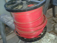 Full Roll of RED 12/2 Wire used for 220 Volt Heaters.150 M $250.