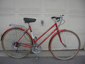 Fire Engine Red Raleigh Sprite 5 Speed Roadster