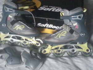 Roller Blade Andra soft boot