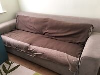 Large 3 seater sofa bed