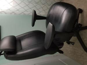 24 hour leather office chair