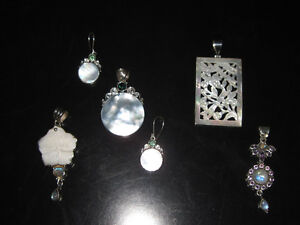 *BRAND NEW ARTISAN STERLING SILVER PENDANTS*