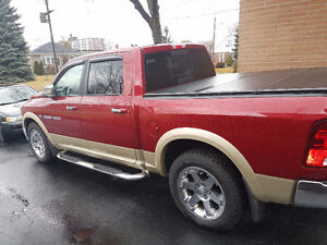 Ram 1500 Laramie 80000k navigation fully loaded