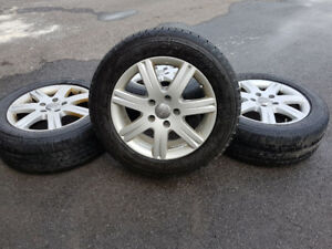Audi 18 inch Winter Snow Tires and Rims
