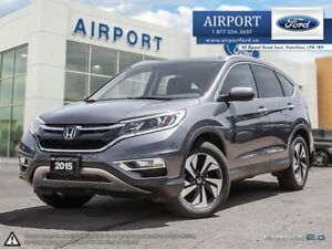 2015 Honda CR-V AWD Touring with only 83,939 kms