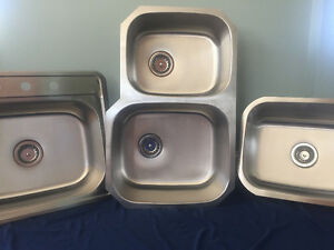 Save $ on Brand New Stainless Sinks - Different Styles Available