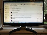 "Acer 24"" monitor P244W"