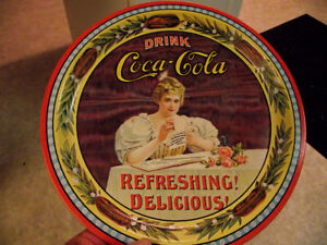 Coke tray repro of Hilda Clark 1899