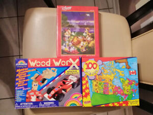 NEW toys/ puzzle - $10 each or take all 3 for $25