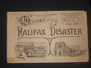 100 year old halifax star-40 views of the halifax disaster