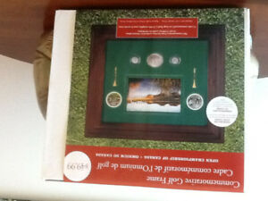 Commemorative Golf Coin Frame