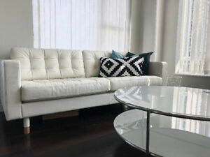 2 bdrm(or 1 & Flex) plus den, patio, parking YALETOWN/FURNISHED