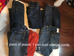2T clothes for toddler boy