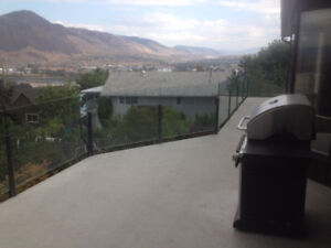Amazing View West End Top Floor Unit Furnished with Garage